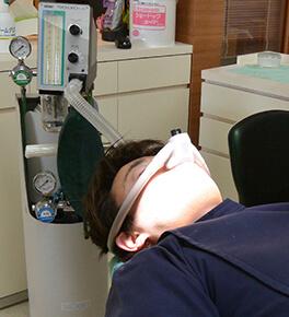 数少ない笑気吸入鎮静法をおこなえる治療院です